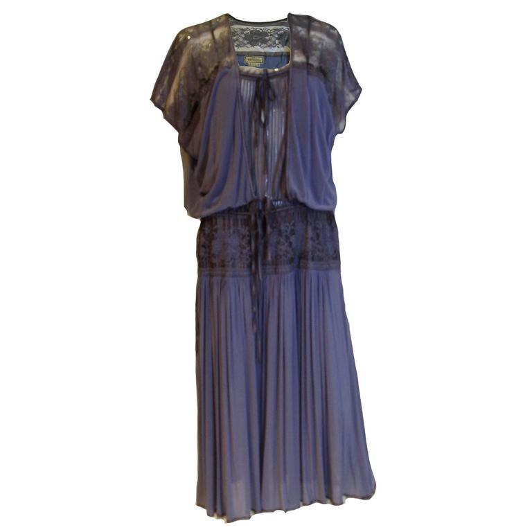 Janice Wainwright Lavender Dress and Jacket