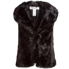 Comme des Garçons 20th Century Faux Fur Vest