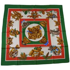 Hermès Paris Confidents des Coeurs 90cm Silk Scarf Carre by Loïc Dubigeon NEW