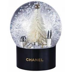 Chanel VIP Collectible Large Snow Globe New