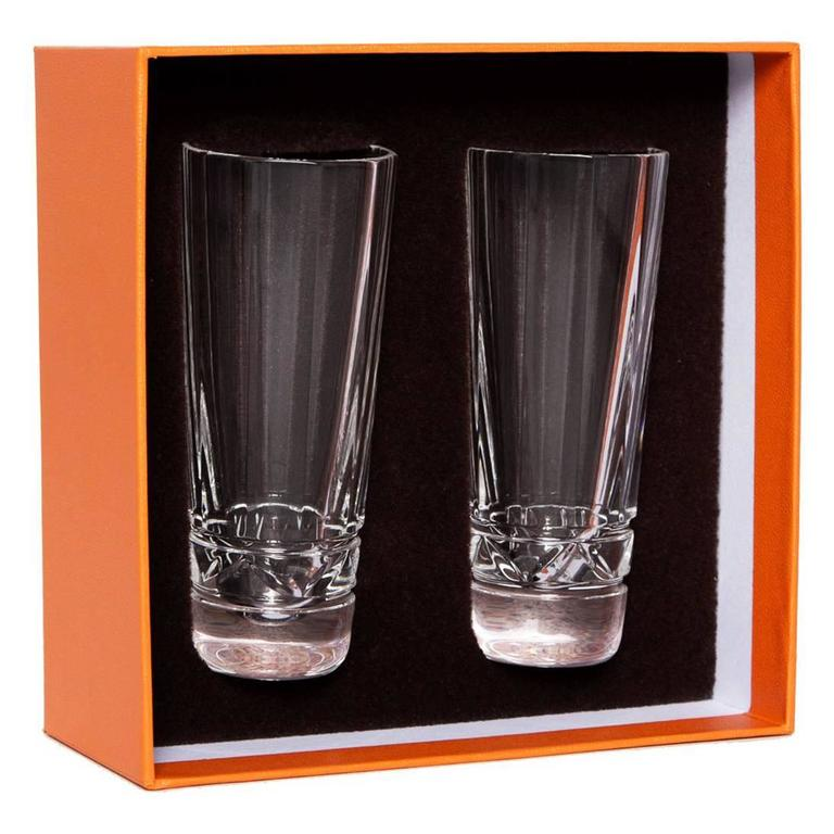 Hermès Crystal Vodka Shot Glasses
