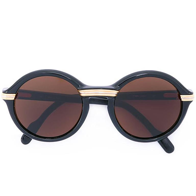 Cartier Round-Frame Sunglasses