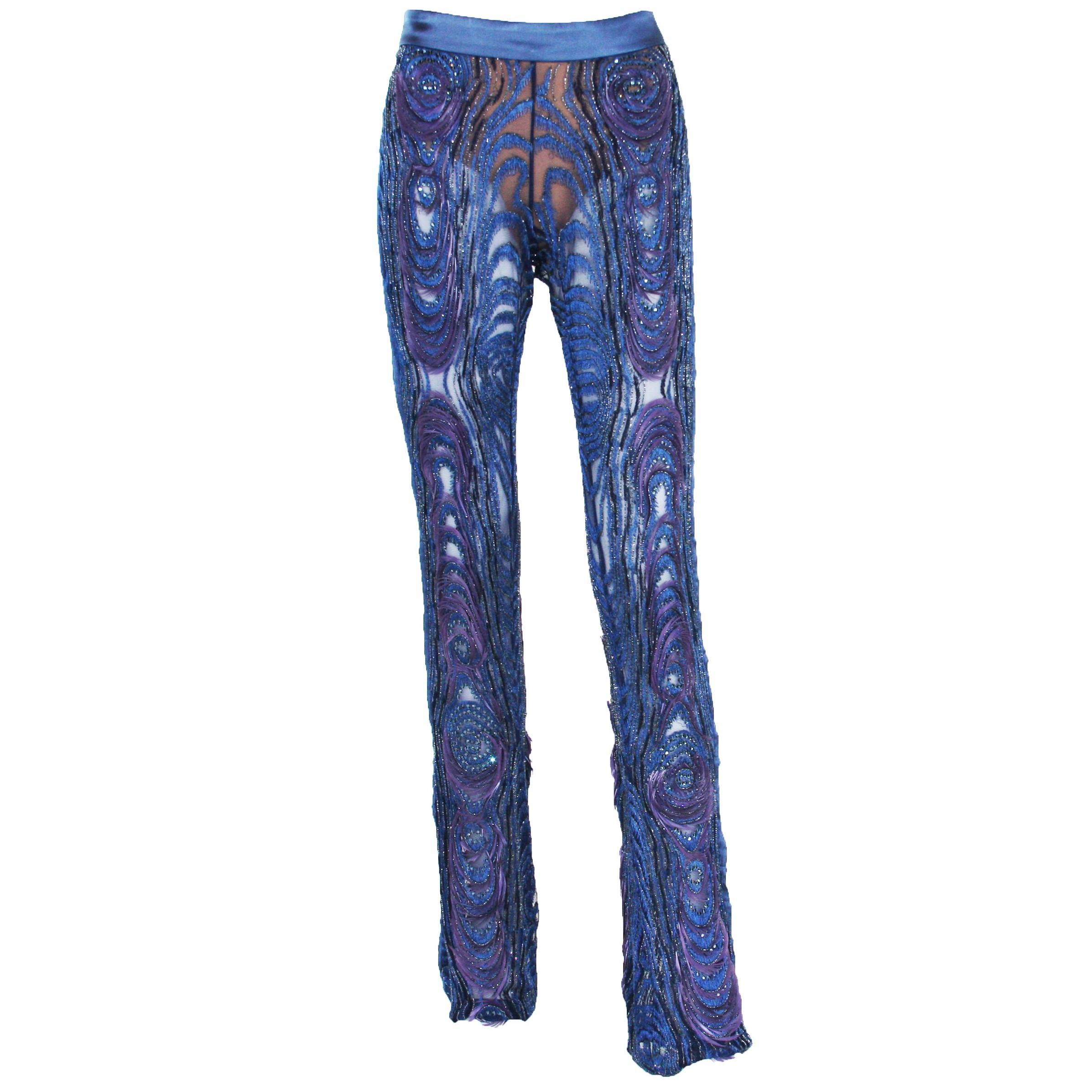5938c2512029 Tom Ford for Gucci embellished lace pants at 1stdibs