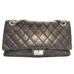 Chanel Classic Double Flap Black Quilting Calfskin Leather Shoulder Bag