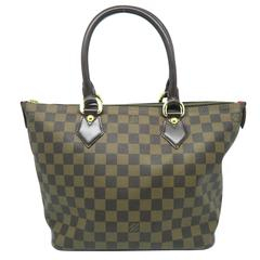 Louis Vuitton Saleya PM Brown Damier Tote Bag