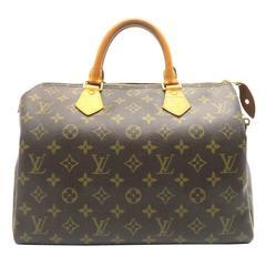 Louis Vuitton Speedy 30 Brown Monogram Handbag