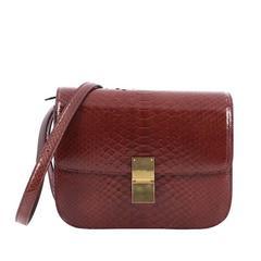 Celine Box Bag Python Medium