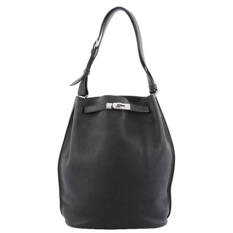 3eb47b134bda Hermes So Kelly Handbag Togo 26 at 1stdibs
