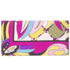 Emilio Pucci checkbook clutch wallet by funky finders