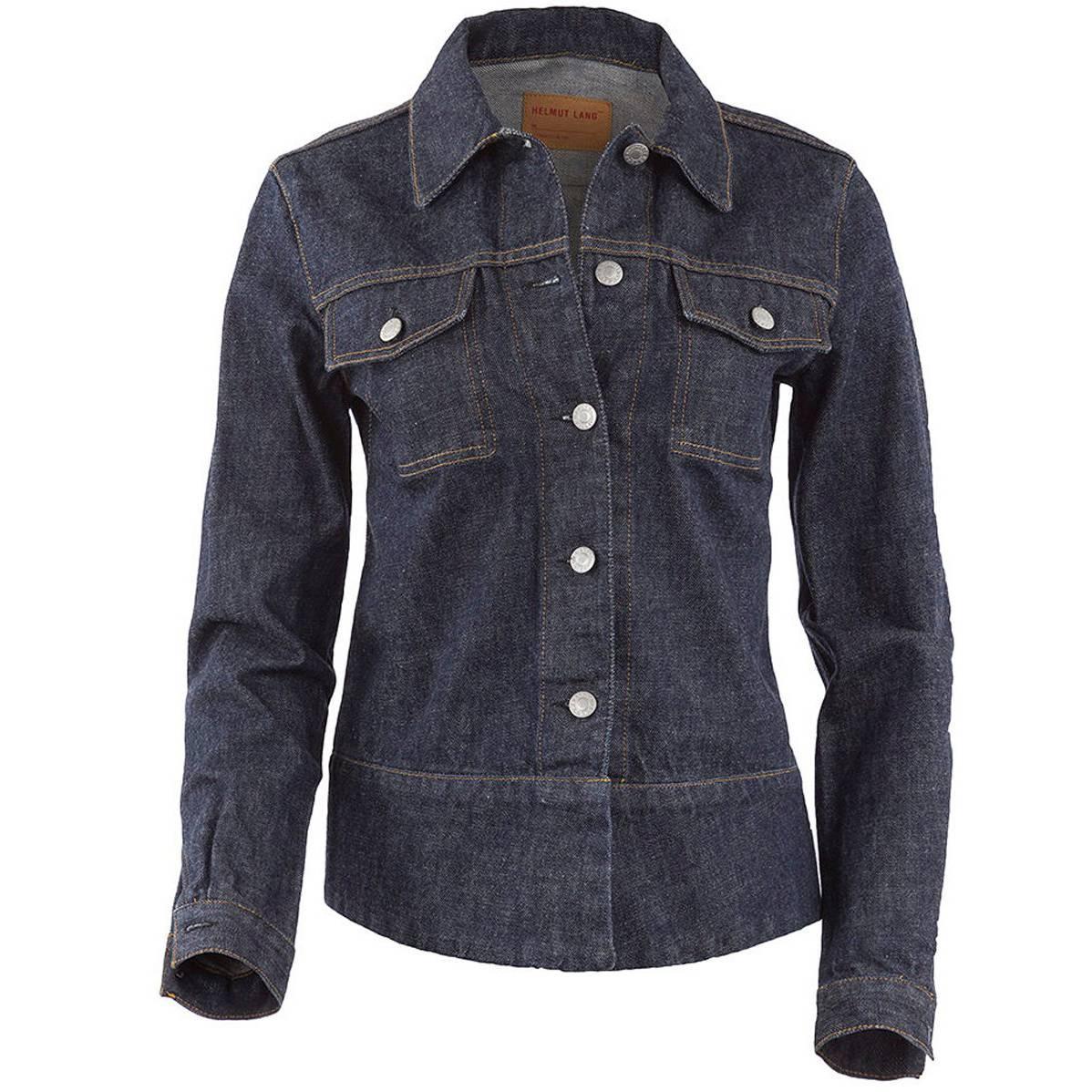 1990's Iconic Helmut Lang Raw Denim Jacket NWT