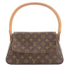 Louis Vuitton Mini Looping Monogram Canvas Hand Bag