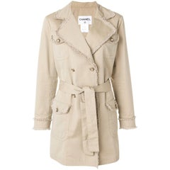 Vintage Chanel Trench Coat