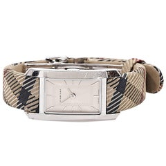Tan Burberry Heritage Watch