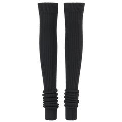 JUNYA WANTANABE for COMME DES GARCONS A/W 2005 Black Wool Knit Leg / Arm Warmers