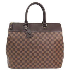 Louis Vuitton Brown Men's Women's Large Carryall Travel Top Handle Tote Bag