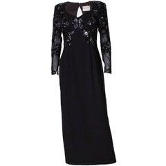 Frank Usher Vintage Evening Gown