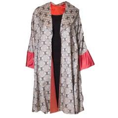 Vintage Chinese Silk Coat
