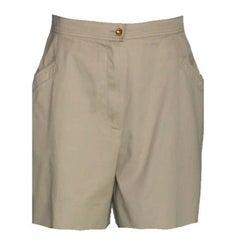Chanel Classic Beige Shorts