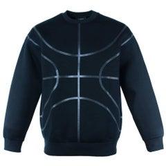 Givenchy Men's Black Viscose Basketball Sweater