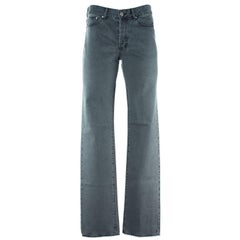 Givenchy Men's 100% Cotton Gray Jeans
