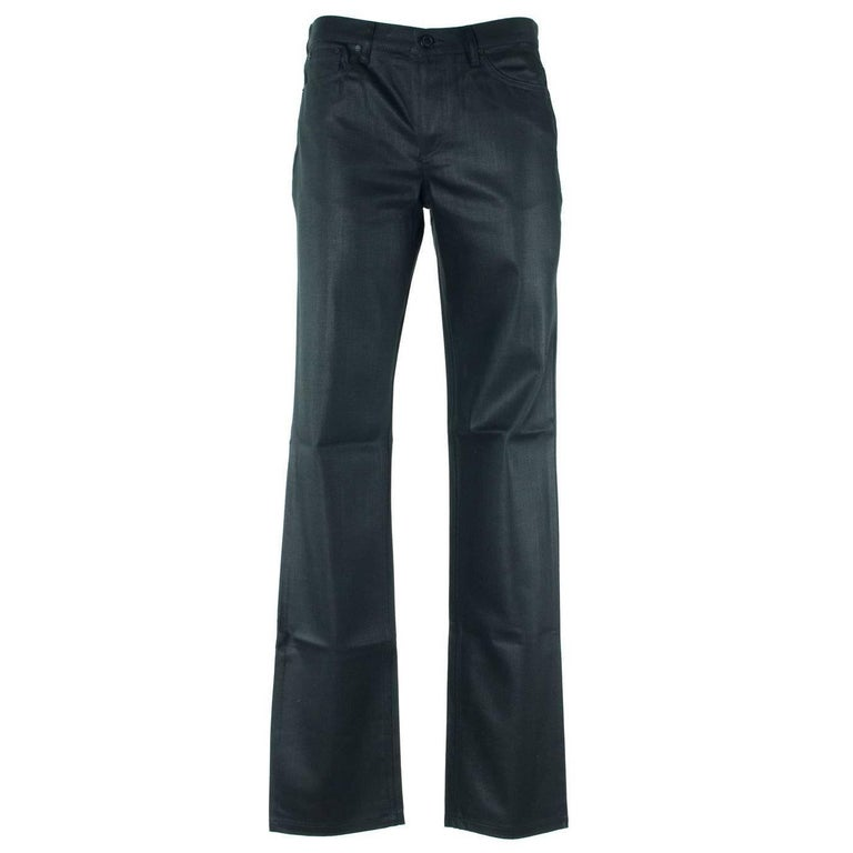 Givenchy Men's 100% Cotton Solid Black Jeans