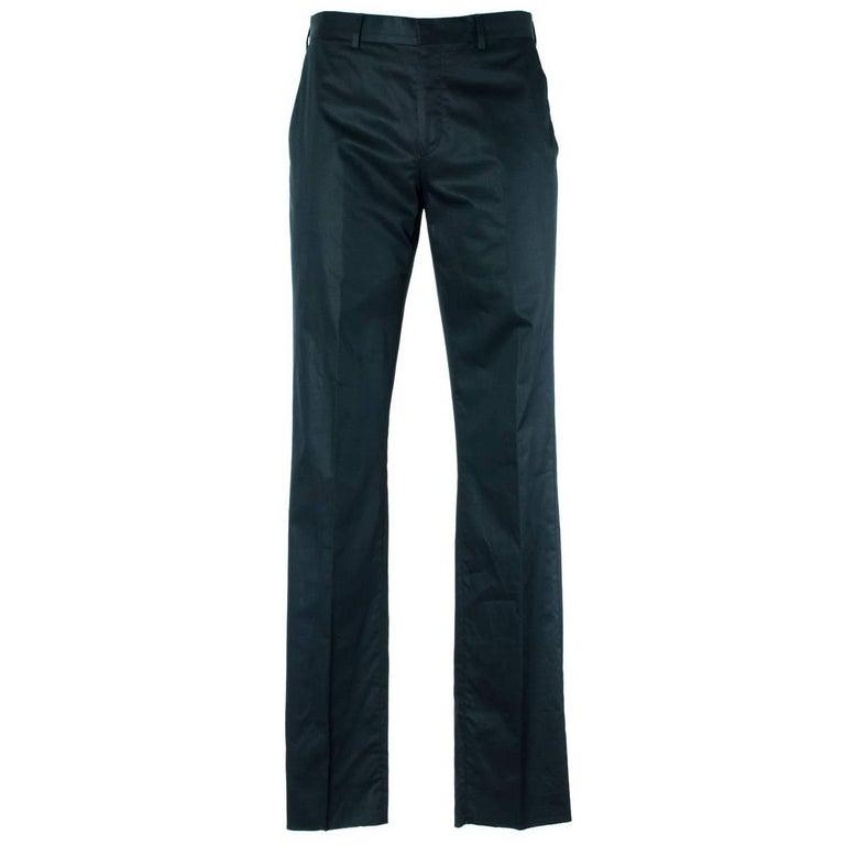 Givenchy Men's Black 100% Cotton Trousers