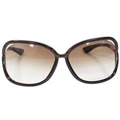 Brown Tom Ford Raquel Sunglasses