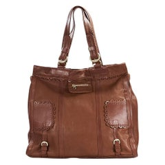 Brown See By Chloé Leather Shoulder Bag