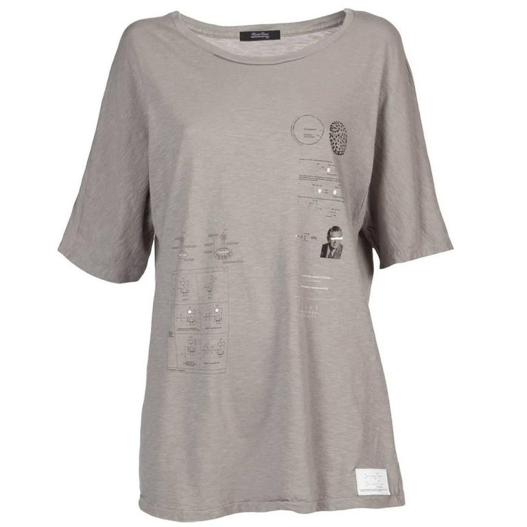 1f4c92d2ebc8 Undercover A/W 2010 Oversize Fit Graphic Print T-Shirt For Sale at ...