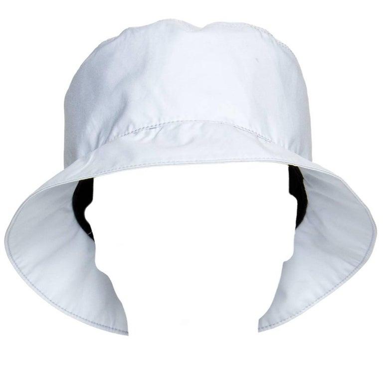 Prada Pale Blue Goretex Bucket Cap 1
