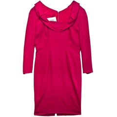 Valentino Pink Longsleeve Dress
