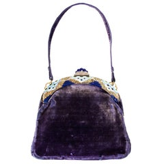 1920's French Art Deco Evening Bag