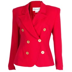 Christian Dior Red Jacket
