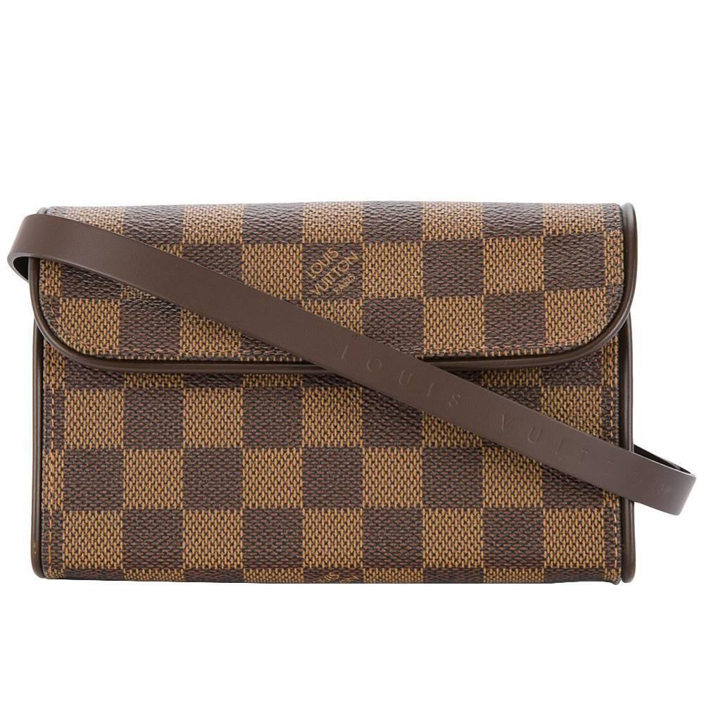Louis Vuitton Brown Damier Men's Women's Fanny Pack Waist Bag