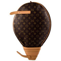 Louis Vuitton Monogram Men's Women's Tennis Racquet and Ball Storage Case Bag