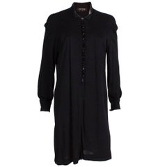 Jean Muir Black Tunic Dress