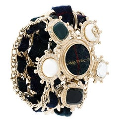 Chanel Chunky Tartan Bracelet