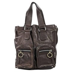 Dark Brown Chloé Betty Tote Bag