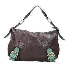 Brown Dolce & Gabbana Leather Shoulder Bag