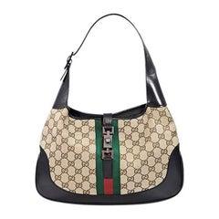 Tan Gucci Jackie Shoulder Bag
