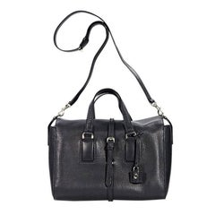 Black Mulberry Small Roxette Satchel