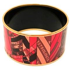 Hermes Enamel Bracelet - New - Extra Wide - Rare