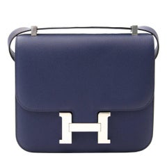 hermes constance 24 epsom bleu sapphire phw
