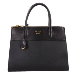 Prada Paradigme Handbag Saffiano Leather Medium