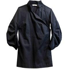 Prada Navy Kimono-Style Top Sz IT40