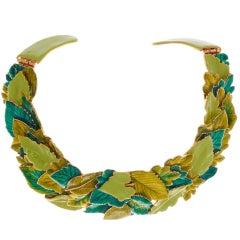 Kenneth Jay Lane Neck Collar
