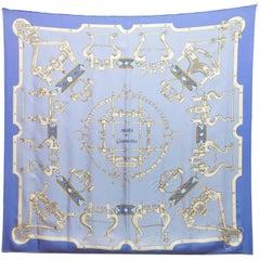 Hermes Mors & Gourmettes Silk 90cm Scarf