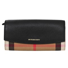 Burberry House Check Porter Wallet NEW with DB