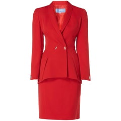 Red Skirt Suit, circa 1991