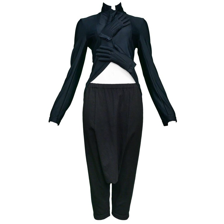 Comme des Garcons Black Glove Ensemble 2007 For Sale